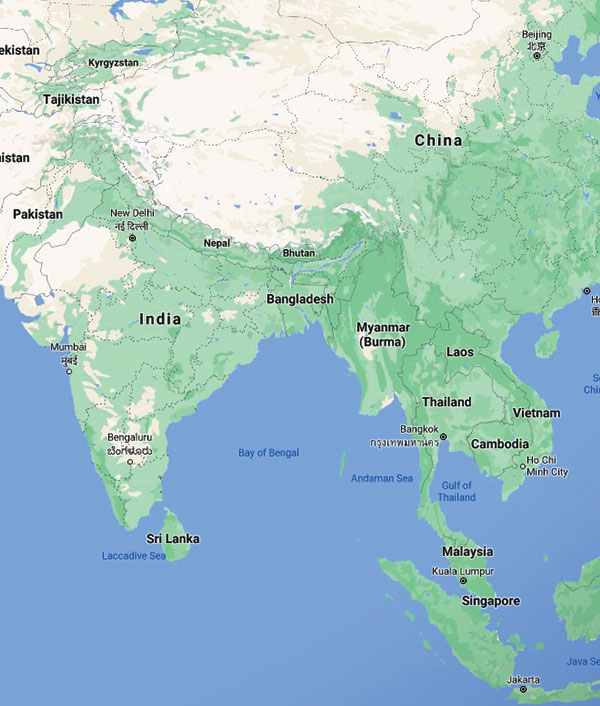 Motorcycle Tours in Asia