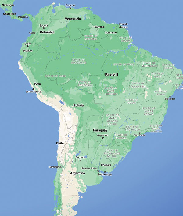 Motorcycle Tours in South America